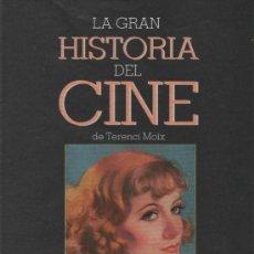 Cine: LA GRAN HISTORIA DEL CINE TERENCI MOIX CAPÍTULO 41 GRETA GARBO SUS PELÍCULAS MUDAS CINE MUDO. Lote 35407336