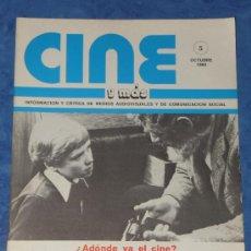 Cine: CINE Y MAS REVISTA Nº5 OCTUBRE 1980 PORTADA PELÍCULA . Lote 35505505