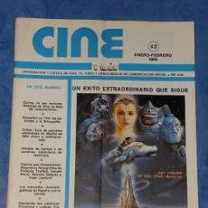 Cine: CINE Y MAS REVISTA Nº 42 ENERO Y FEBRERO 1985 PORTADA . Lote 35507281