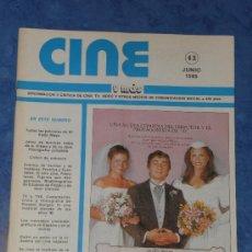 Cine: CINE Y MAS REVISTA Nº 43 JUNIO 1985 . Lote 35507315