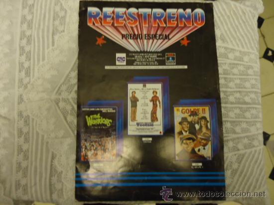 REESTRENO PRECIO ESPECIAL, CINE 1987 PUBLICIDAD DE LA EPOCA, PSICOSIS, EL GOLPE, THE WARRIORS (Cine - Revistas - Otros)