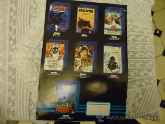Cine: reestreno precio especial, cine 1987 publicidad de la epoca, psicosis, el golpe, the warriors - Foto 2 - 35558886
