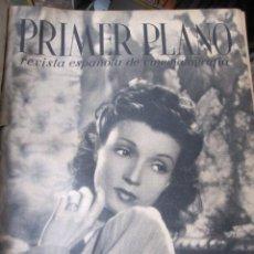 Cine: REVISTA CINE PRIMER PLANO - 24 PRIMEROS NUMEROS EN UN TOMO 20 OCT 1940 A 30 MARZO 1941. Lote 35567502