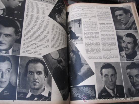 Cine: REVISTA CINE PRIMER PLANO - 24 PRIMEROS NUMEROS EN UN TOMO 20 OCT 1940 A 30 MARZO 1941 - Foto 3 - 35567502
