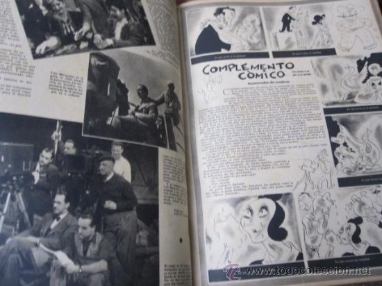 Cine: REVISTA CINE PRIMER PLANO - 24 PRIMEROS NUMEROS EN UN TOMO 20 OCT 1940 A 30 MARZO 1941 - Foto 4 - 35567502