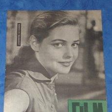 Cine: REVISTA FILM IDEAL Nº 49, 1 JUNIO 1960 PORTADA JUGERBERG SCHONER. Lote 35625476