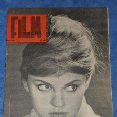 Cine: REVISTA FILM IDEAL Nº 64,FEBRERO 1961 PORTADA ALEXANDRA ZAWIERUSZANKA ACTRIZ POLACA. Lote 35626202