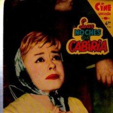Cine: CINE ENSUEÑO, LAS NOCHES DE CABIRIA, FASCÍCULO Nº 3, 1959. Lote 35634343