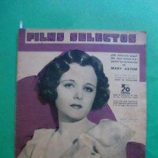 Cine: Nº 239 18/05/1935 MARY ASTOR - ELIMIO COHL A WALT DISNEY - ALICE FAYE - MIGUEL LIGERO - BING CROSBY . Lote 35684736