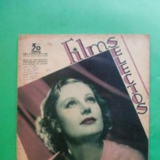 Cine: Nº 288 25/04/1936 ROSITA DIAZ - EDDIE CANTOR - HAROLD LLOYD - PAUL MUNI - GINGER ROGERS . Lote 35691036