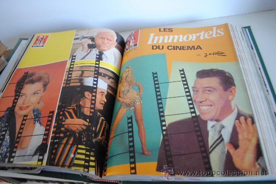 Cine: AÑOS 1977 A 1988 REVISTA CINE REVUE. 37 TOMOS. UNA REVISTA ICONO DEL CINE DE LA TRANSICION. FRANCES - Foto 3 - 35809935