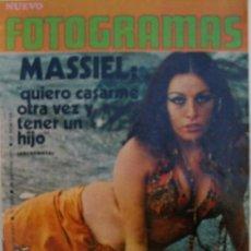 Cine: FOTOGRAMAS. AÑO XXVI. Nº 1192. AGOSTO 1971. Lote 35841470