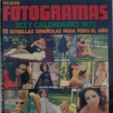 Cine: FOTOGRAMAS. AÑO XXVI. Nº 1207. DICIEMBRE 1971. EXTRA. Lote 35841739