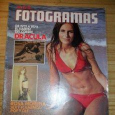 Cine: REVISTA NUEVO FOTOGRAMAS Nº 1238 (7 DE JULIO DE 1972) EL HARÉN DEL CONDE DRACULA. Lote 35894930