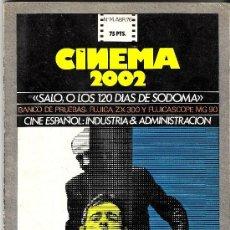 REVISTA CINEMA 2002 ABRIL 1976 PASCUAL DUARTE