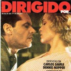 Cine: REVISTA DIRIGIDO POR Nº 83 ENTREVISTA CON CARLOS SAURA - DENNIS HOPPER. HITCHCOCK -STERNBERG. Lote 35915565