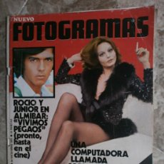 Cine: FOTOGRAMAS.Nº1210.1971.ROCIO DURCAL Y JUNIOR,A.FERNANDEZ,A.SORDI,G.PEPPARD,B.BARDOT,A.BATES.. Lote 36010857