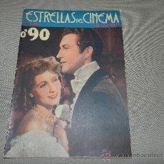 Cine: (M-1) ESTRELLAS DEL CINE SU VIDA SUS CREACIONES, EDICIONES CINOVEL, BARCELONA, MUY ILUSTRADA. Lote 36030775