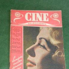 Cine: REVISTA CINE SELECCIONES - ENERO 1951. Lote 36070243