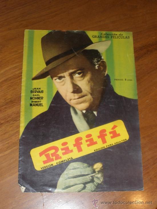GRANDES PELÍCULAS - RIFIFÍ (Cine - Revistas - Colección grandes películas)