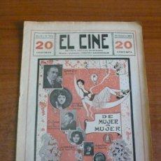 Cine: EL CINE. REVISTA POPULAR ILUSTRADA. AÑO XIII, NÚM. 655. OCUBRE 1924. DIRECTOR: BARANGÓ-SOLÍS, F.. Lote 36347236
