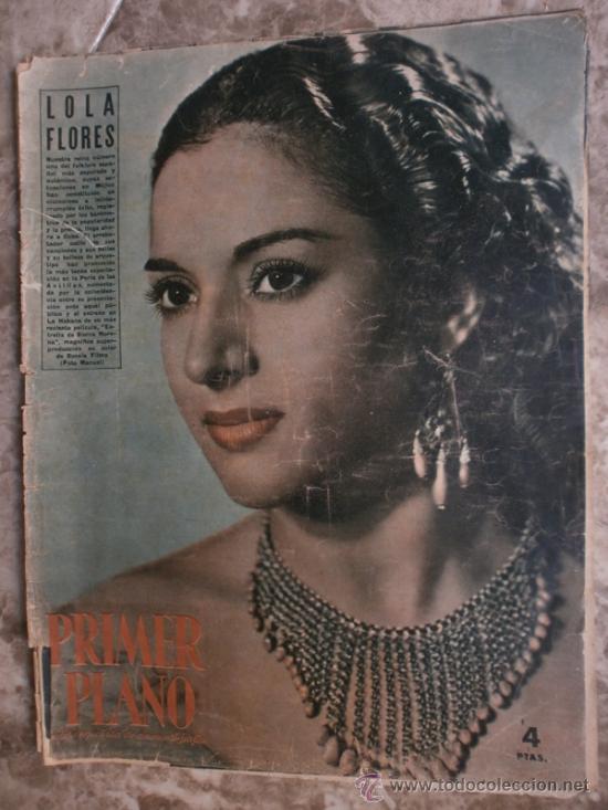 PRIMER PLANO Nº616. 1952.LOLA FLORES,R.WIDMARK,D.FINAYRE,M.LEGRAND,E.HEAD,J.COLLINS,M.BRANDO. (Cine - Revistas - Primer plano)