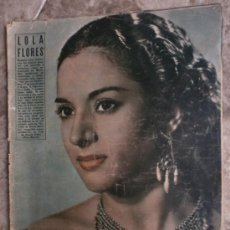 Cine: PRIMER PLANO Nº616. 1952.LOLA FLORES,R.WIDMARK,D.FINAYRE,M.LEGRAND,E.HEAD,J.COLLINS,M.BRANDO.. Lote 36235779
