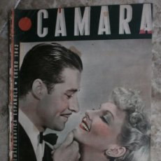 Cine: CAMARA Nº4.1942.M.MARTIN Y D.AMECHE,C.GABLE,G.GARBO,A.MARISCAL,R.VALENTINO,R.HAYWORTH,M.DIETRICH.. Lote 36239317