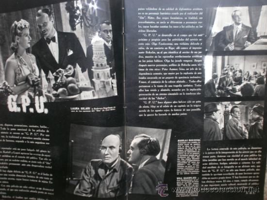 Cine: CAMARA Nº25.1943.MARTA SANTAOLALLA,G.GARBO,MARGO,S.SIDNEY,R.DURAN,C.DE VARGAS,J.BENNETT,H.LAMARR. - Foto 3 - 36237340