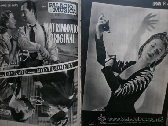 Cine: CAMARA Nº25.1943.MARTA SANTAOLALLA,G.GARBO,MARGO,S.SIDNEY,R.DURAN,C.DE VARGAS,J.BENNETT,H.LAMARR. - Foto 4 - 36237340