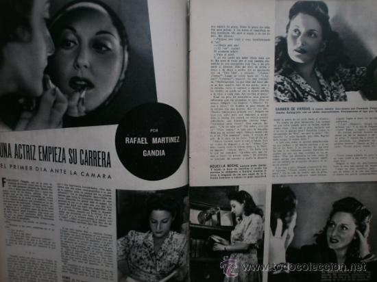 Cine: CAMARA Nº25.1943.MARTA SANTAOLALLA,G.GARBO,MARGO,S.SIDNEY,R.DURAN,C.DE VARGAS,J.BENNETT,H.LAMARR. - Foto 6 - 36237340