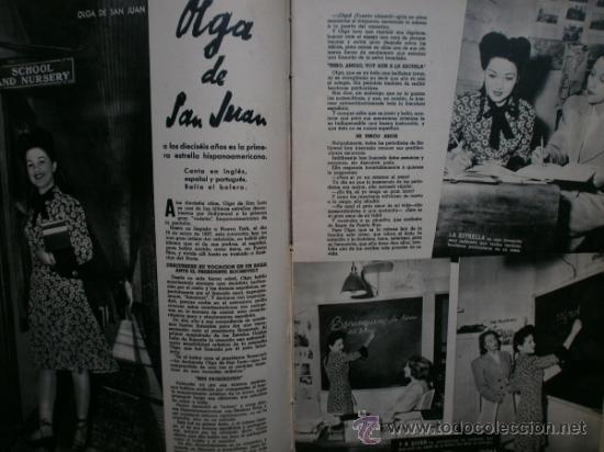 Cine: CAMARA Nº25.1943.MARTA SANTAOLALLA,G.GARBO,MARGO,S.SIDNEY,R.DURAN,C.DE VARGAS,J.BENNETT,H.LAMARR. - Foto 7 - 36237340