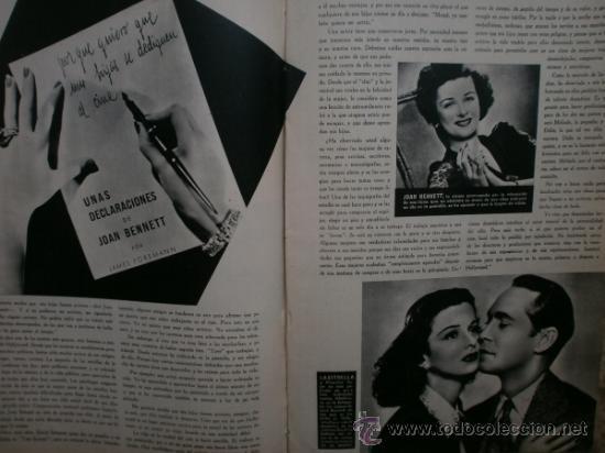 Cine: CAMARA Nº25.1943.MARTA SANTAOLALLA,G.GARBO,MARGO,S.SIDNEY,R.DURAN,C.DE VARGAS,J.BENNETT,H.LAMARR. - Foto 10 - 36237340