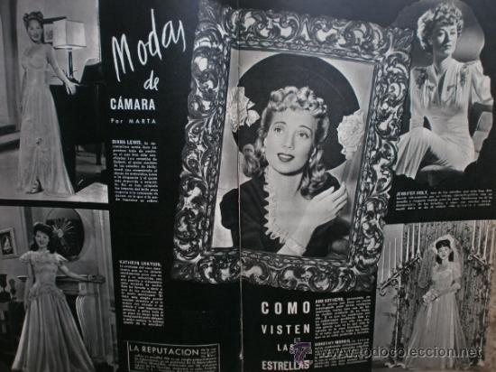 Cine: CAMARA Nº25.1943.MARTA SANTAOLALLA,G.GARBO,MARGO,S.SIDNEY,R.DURAN,C.DE VARGAS,J.BENNETT,H.LAMARR. - Foto 11 - 36237340