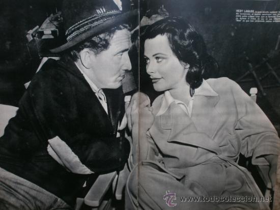 Cine: CAMARA Nº25.1943.MARTA SANTAOLALLA,G.GARBO,MARGO,S.SIDNEY,R.DURAN,C.DE VARGAS,J.BENNETT,H.LAMARR. - Foto 12 - 36237340