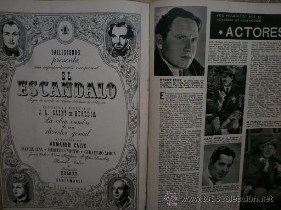Cine: CAMARA Nº25.1943.MARTA SANTAOLALLA,G.GARBO,MARGO,S.SIDNEY,R.DURAN,C.DE VARGAS,J.BENNETT,H.LAMARR. - Foto 13 - 36237340