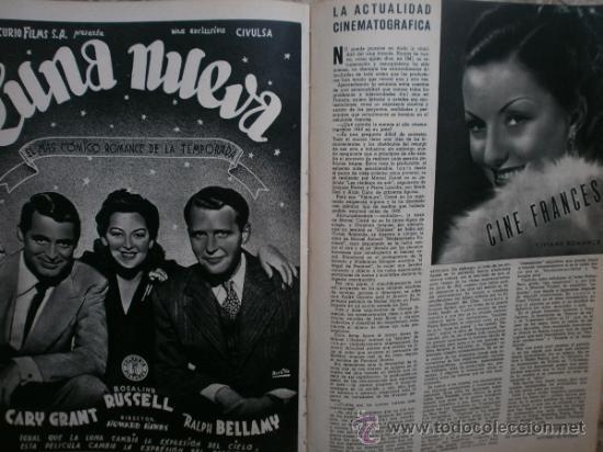 Cine: CAMARA Nº25.1943.MARTA SANTAOLALLA,G.GARBO,MARGO,S.SIDNEY,R.DURAN,C.DE VARGAS,J.BENNETT,H.LAMARR. - Foto 15 - 36237340