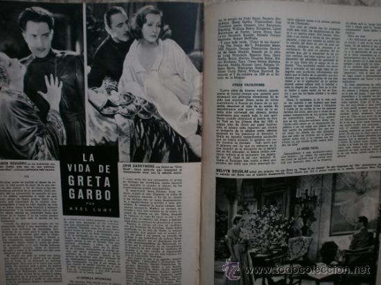 Cine: CAMARA Nº25.1943.MARTA SANTAOLALLA,G.GARBO,MARGO,S.SIDNEY,R.DURAN,C.DE VARGAS,J.BENNETT,H.LAMARR. - Foto 16 - 36237340