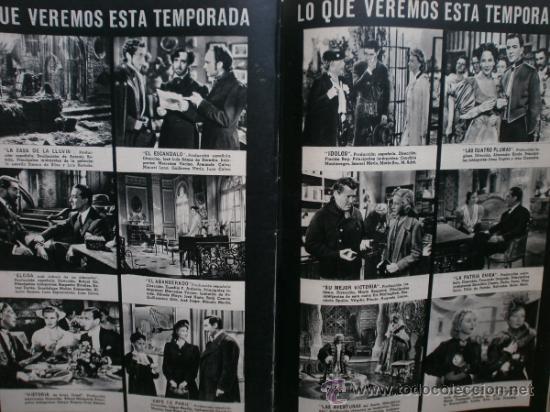 Cine: CAMARA Nº25.1943.MARTA SANTAOLALLA,G.GARBO,MARGO,S.SIDNEY,R.DURAN,C.DE VARGAS,J.BENNETT,H.LAMARR. - Foto 17 - 36237340