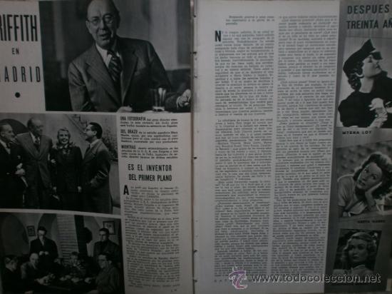 Cine: CAMARA Nº17.1943.IRENE VON MEYENDORFF,J.FONTAINE,C.BRUCE,T.BOTAS,A.GARDNER,K.HEPBURN,W.BIRGEL. - Foto 3 - 36240422