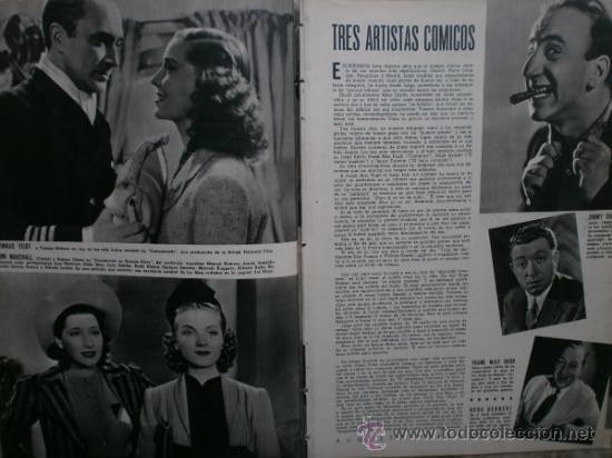 Cine: CAMARA Nº17.1943.IRENE VON MEYENDORFF,J.FONTAINE,C.BRUCE,T.BOTAS,A.GARDNER,K.HEPBURN,W.BIRGEL. - Foto 4 - 36240422