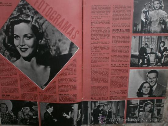 Cine: CAMARA Nº17.1943.IRENE VON MEYENDORFF,J.FONTAINE,C.BRUCE,T.BOTAS,A.GARDNER,K.HEPBURN,W.BIRGEL. - Foto 6 - 36240422
