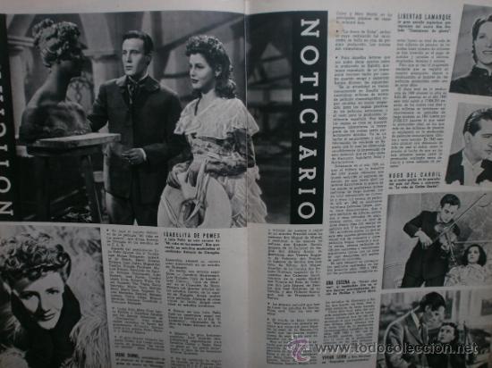 Cine: CAMARA Nº17.1943.IRENE VON MEYENDORFF,J.FONTAINE,C.BRUCE,T.BOTAS,A.GARDNER,K.HEPBURN,W.BIRGEL. - Foto 8 - 36240422