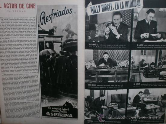 Cine: CAMARA Nº17.1943.IRENE VON MEYENDORFF,J.FONTAINE,C.BRUCE,T.BOTAS,A.GARDNER,K.HEPBURN,W.BIRGEL. - Foto 9 - 36240422