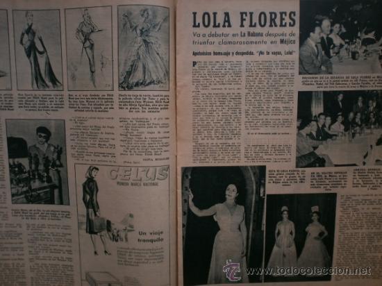 Cine: PRIMER PLANO Nº616. 1952.LOLA FLORES,R.WIDMARK,D.FINAYRE,M.LEGRAND,E.HEAD,J.COLLINS,M.BRANDO. - Foto 5 - 36235779