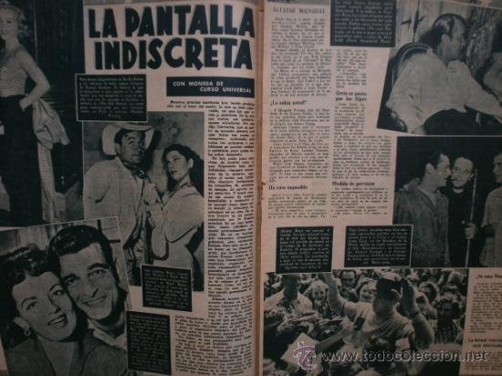 Cine: PRIMER PLANO Nº616. 1952.LOLA FLORES,R.WIDMARK,D.FINAYRE,M.LEGRAND,E.HEAD,J.COLLINS,M.BRANDO. - Foto 6 - 36235779