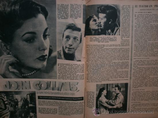 Cine: PRIMER PLANO Nº616. 1952.LOLA FLORES,R.WIDMARK,D.FINAYRE,M.LEGRAND,E.HEAD,J.COLLINS,M.BRANDO. - Foto 9 - 36235779