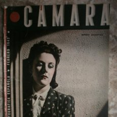 Cine: CAMARA Nº5.1942.IMPERIO ARGENTINA,G.GARBO,M.DIETRICH,C. LOMBARD, G. MONTGOMERY, G. ROGERS, G. COOPER. Lote 36250943
