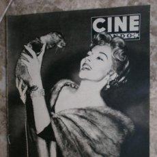 Cine: CINE MUNDO Nº97.1954.MARI BLANCHARD,M.DIAZ,T.LEBLANC,GILA,V.HEFLIN,M.MONROE,N.MARSHALL,A.ESMERALDA.. Lote 36253004
