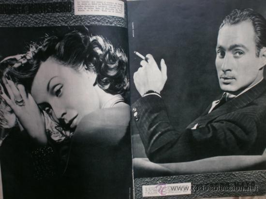 Cine: CAMARA Nº5.1942.IMPERIO ARGENTINA,G.GARBO,M.DIETRICH,C. LOMBARD, G. MONTGOMERY, G. ROGERS, G. COOPER - Foto 4 - 36250943